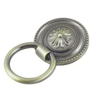 Antique Design Bronze Tone Metal Round Drop Door Pull Handle Knobs