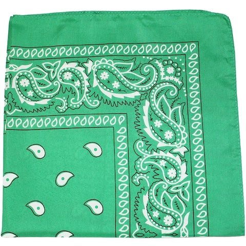 Pack of 150 Paisley 100% Cotton Double Sided Bandanas - Wholesale Lot - One Size Fits Most