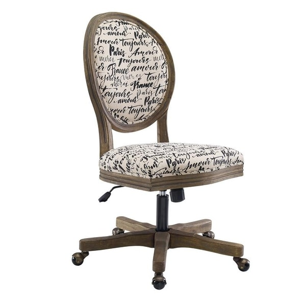 Linon Tess Office Chair. Opens flyout.