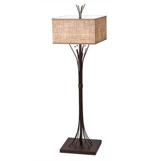 2nd Ave Lighting 221155-3 4 Light Ramus Floor Lamp - Cafe Noir