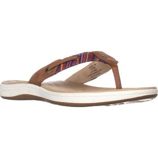 Sperry Top-Sider Seabrook Fisherman Sandals, Surf Linen Stripe