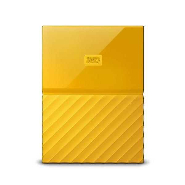 Western Digital - Wd 4Tb My Passport Portable Yellow