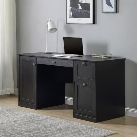 Merax Computer Desk with Large Storage Space