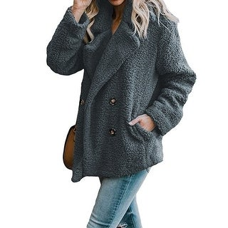 Link to Plush Teddy Peacoat In Multiple Colors, S-3X Similar Items in Jackets