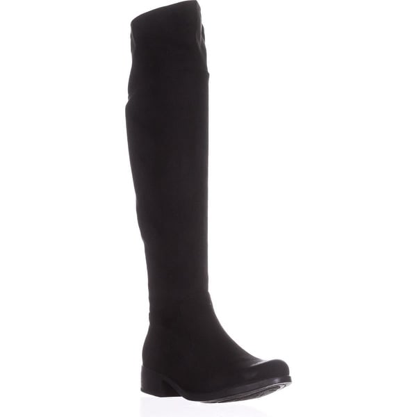 B.O.C. Born Kace Flat Riding Boots, Black - 8.5 us / 40 eu
