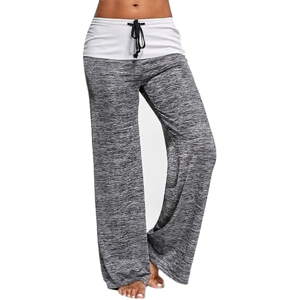 Drawstring Wide Leg Yoga Pants High Waisted Lounge Pants Casual Pants. Opens flyout.