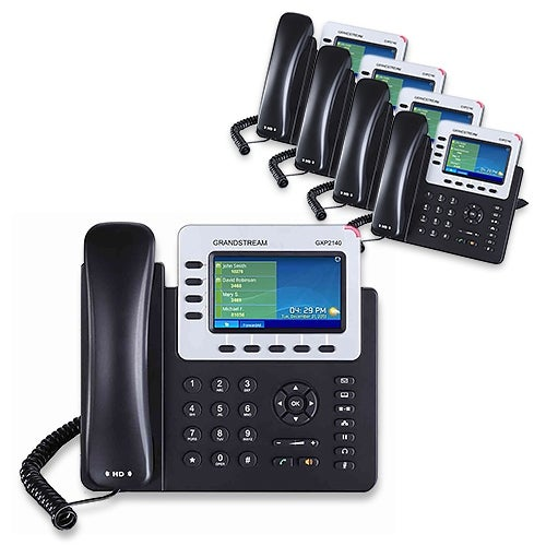 Grandstream GXP2140 (5 Pack) 4 Line VoIP Phone