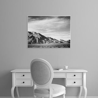 Easy Art Prints Ansel Adams's 'Near Death Valley' Premium Canvas Art