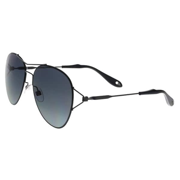 a2fcfe0d7 Shop Givenchy GV7005/S 006 HD Black Aviator Sunglasses - No Size ...