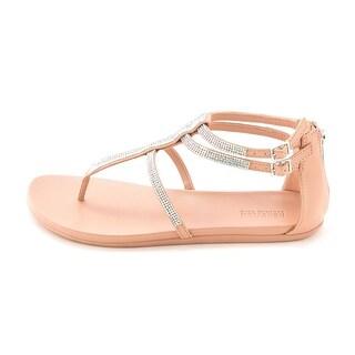 Kenneth Cole Reaction Womens Slim It Embellished Ankle Strap Sandals
