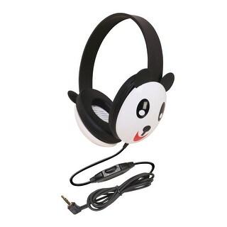 Califone 2810-PA Listening First Kids Panda Theme Wired Headphones