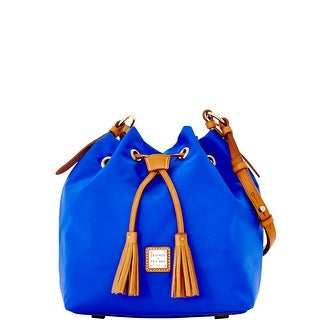 Dooney & Bourke Windham Small Kade Drawstring (Introduced by Dooney & Bourke at $198 in Jan 2016) - French Blue