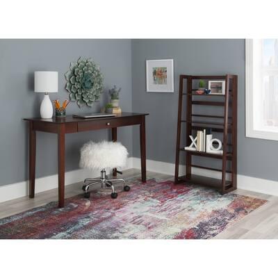 Dakin Mid-Century Solid Wood Desk
