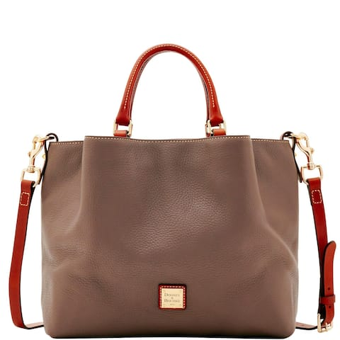 fa7c412da548 Dooney   Bourke Pebble Grain Large Barlow Bag (Introduced by Dooney    Bourke at  358
