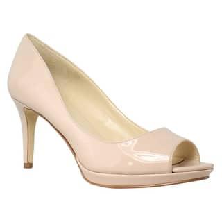 6d6451e68803 Quick View. Was  34.39.  12.00 OFF. Sale  22.39. Nine West Womens  Gelabellesynthetic LightNatural Open Toe Heels ...