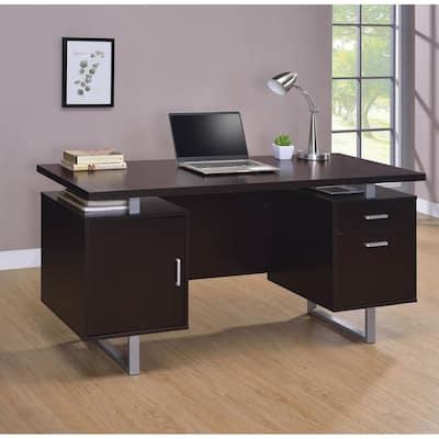 Copper Grove Swetes Espresso Office Desk