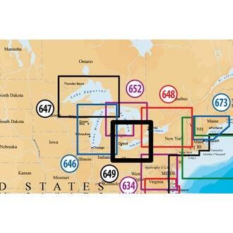 Navionics MSD/649PP Platinum Plus Lake Erie and Saint Clair - Blue