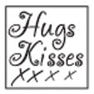Hugs & Kisses - Decorative Resin Seal W/Purple Wax