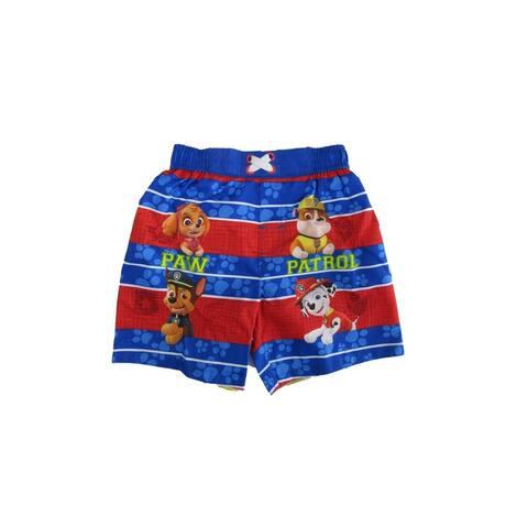 Nickelodeon Little Boys Royal Blue Paw Patrol Swim Shorts