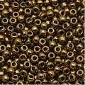 Toho Round Seed Beads 6/0 223 'Antique Bronze' 8g - Thumbnail 0