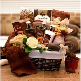 Link to Caramel Indulgence Spa Relaxation Hamper Similar Items in Unique Gift Baskets & Sets