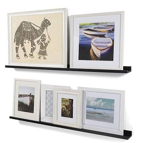 46 Inches Floating Picture Display Ledge Wall Mount Shelf