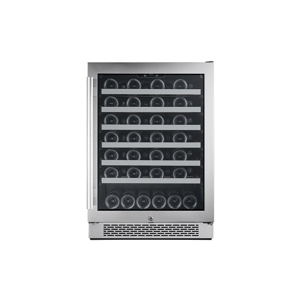 Avallon AWC241SZRH 24 Inch Wide 54 Bottle Capacity Single Zone Wine Cooler with Right Swing Door