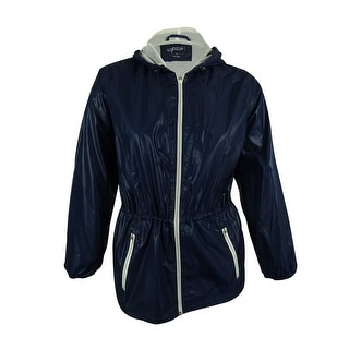 Style & Co. Women's Hooded Anorak Jacket