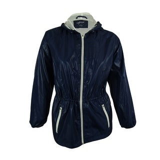 Style & Co. Women's Hooded Anorak Jacket - 1x
