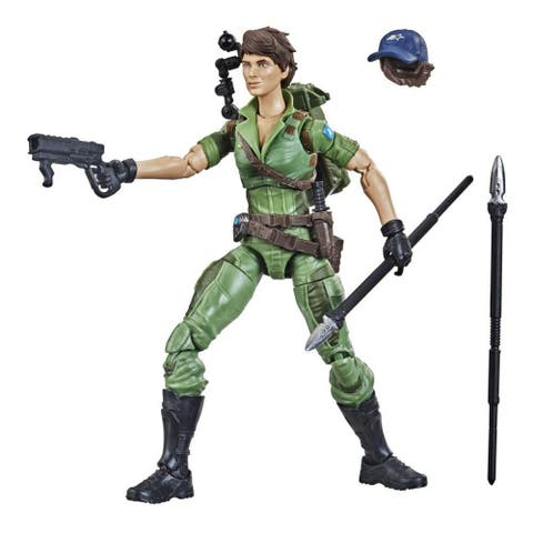G.I. Joe Classified Series Series Lady Jaye Action Figure 25 Collectible Toy, Multiple Accessories, Custom Package Art