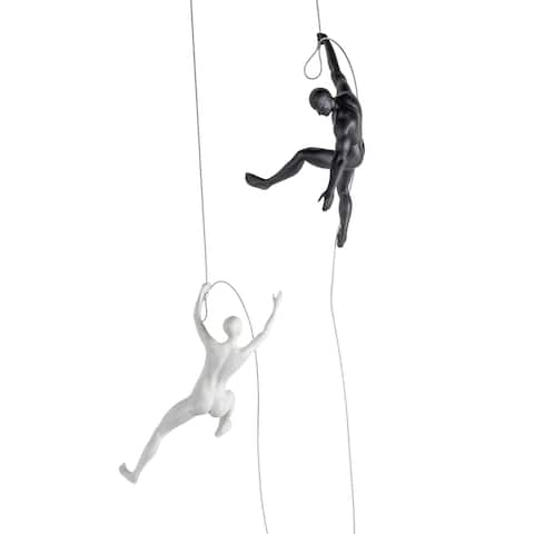 Wall Climber Couple - large