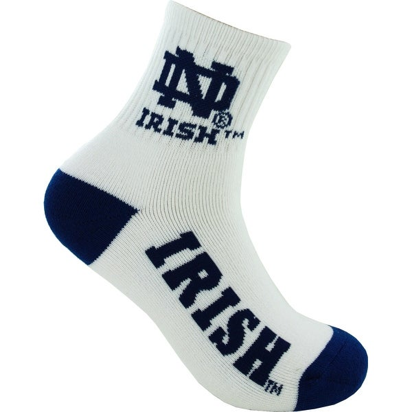 Notre Dame Fighting Irish Logo Socks