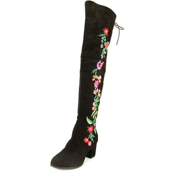 2 Lips Too Too Bianca Women Round Toe Synthetic Over the Knee Boot