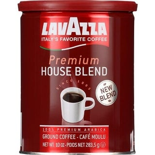 Lavazza - Ground Premium House Blend Coffee ( 2 - 10 OZ)