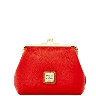 Dooney & Bourke Pebble Grain Large Framed Purse (Introduced by Dooney & Bourke at $58 in Dec 2014) - Red