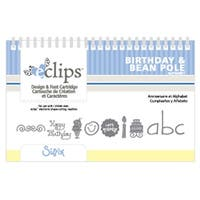 Birthday & Bean Pole New Sizzix Eclips Design Cartridge