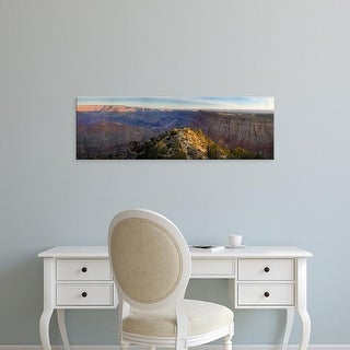 Easy Art Prints Panoramic Image 'Desert Point, South Rim, Grand Canyon, Grand Canyon National Park, Arizona' Canvas Art