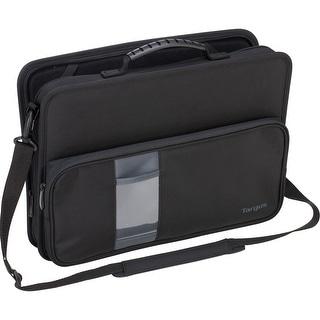 "Targus Work-In TKC001D Carrying Case (Briefcase) for 11.6"" Notebook, Chromebook - Black - Knock Resistant, Drop Resistant, Scrat"