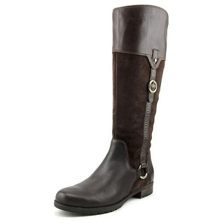 Rockport Tristina Buckle Riding   Round Toe Suede  Knee High Boot