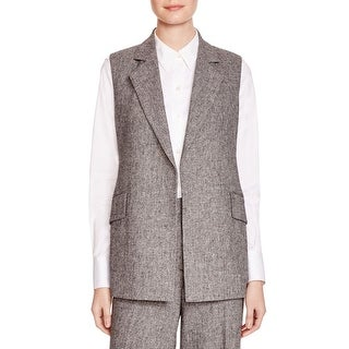 Theory Womens Suit Vest Polyester Marled - 0