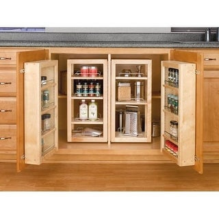 "Rev-A-Shelf 4WBP18-25-KIT 25"" Base Cabinet Swing Out Complete Pantry System"