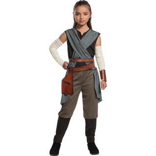 Girls Rey Star Wars The Last Jedi Halloween Costume