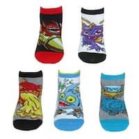 Activision Boy's Skylander Low Cut Socks (5 Pair Pack)