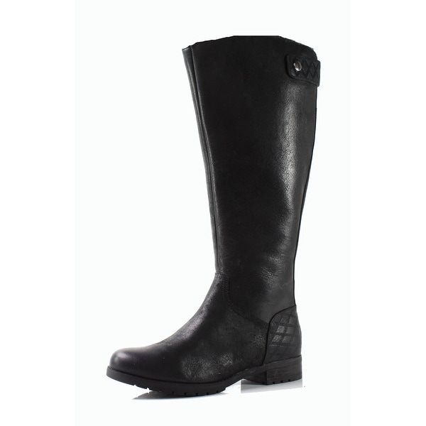 Rockport NEW Black Women's Shoes Size 5W Tristina Leather Boot