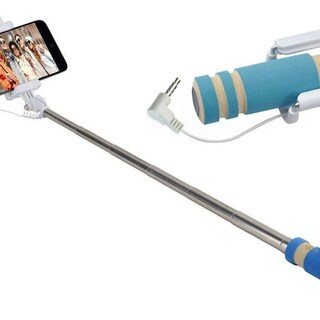 Wired Selfie Stick Compatible With All Smartphones