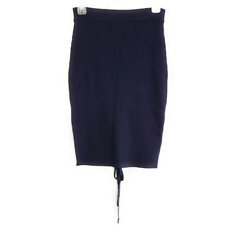 Kendall + Kylie Skirt, Navy, Small