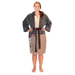 Star Wars Force Rey Resistance Women's Costume Fleece Robe OSFM