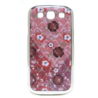 JAVOedge Crystal Back Cover for the Samsung Galaxy S3 - Floral