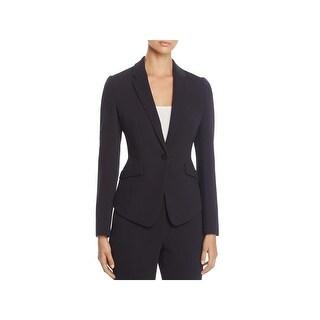 BOSS Hugo Boss Womens Jalania One-Button Blazer Business Office