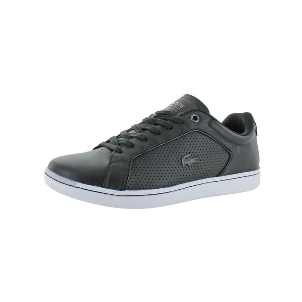 20f7fb356695 Shop Lacoste Mens Carnaby Evo 317 Casual Shoes Leather Ortholite - Free  Shipping Today - Overstock - 28087376